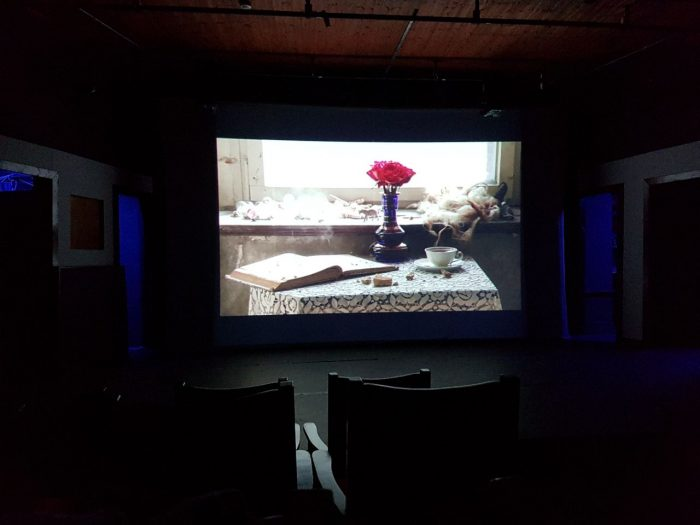 Projection in the Theatre by Valentina Lacinio for Literary Creation, BJCEM